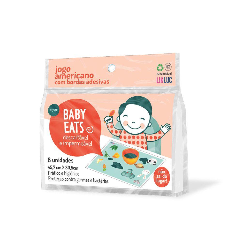 Jogo Americano Descartável Baby Eats Likluc
