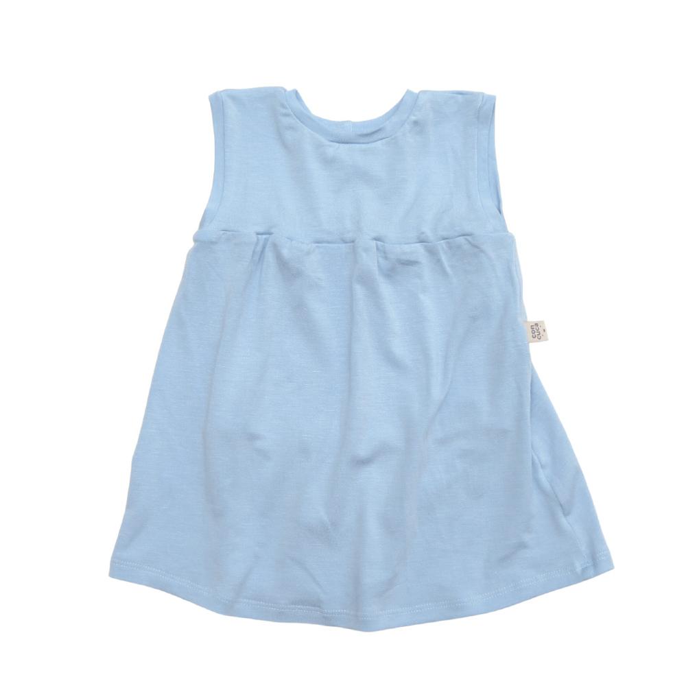 Body Vestido Modal  Frozen Azul Concuca