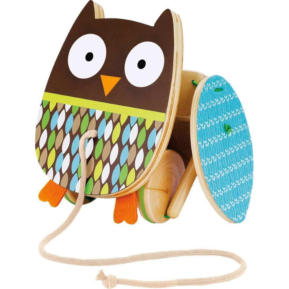 Brinquedo de Madeira Corujinha de Puxar Skip Hop