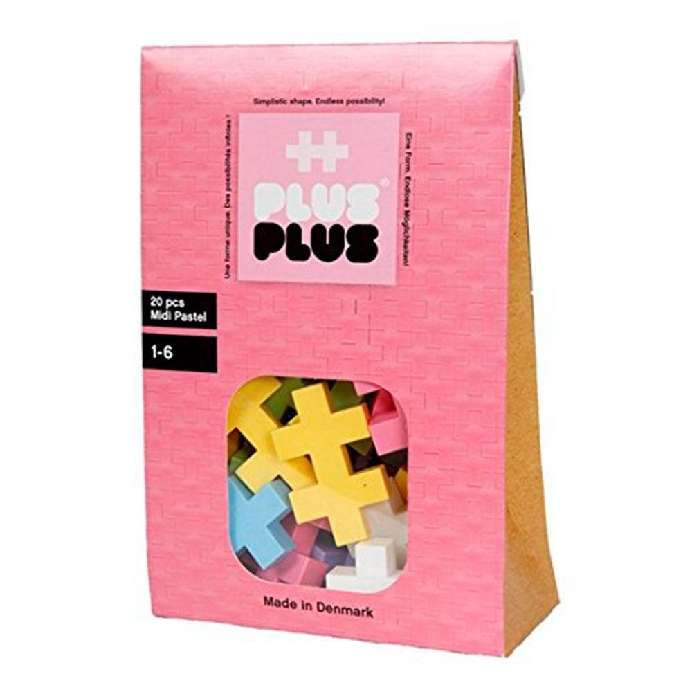 Brinquedo de montar  Mini Pastel 20 Plus Plus