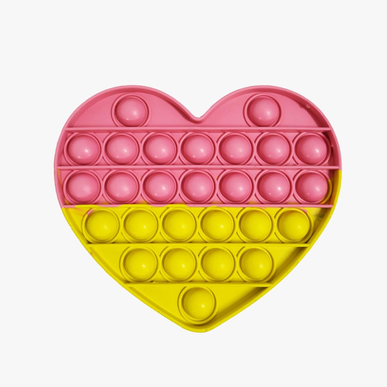 Brinquedo Pop-it Fidget Toys Coração