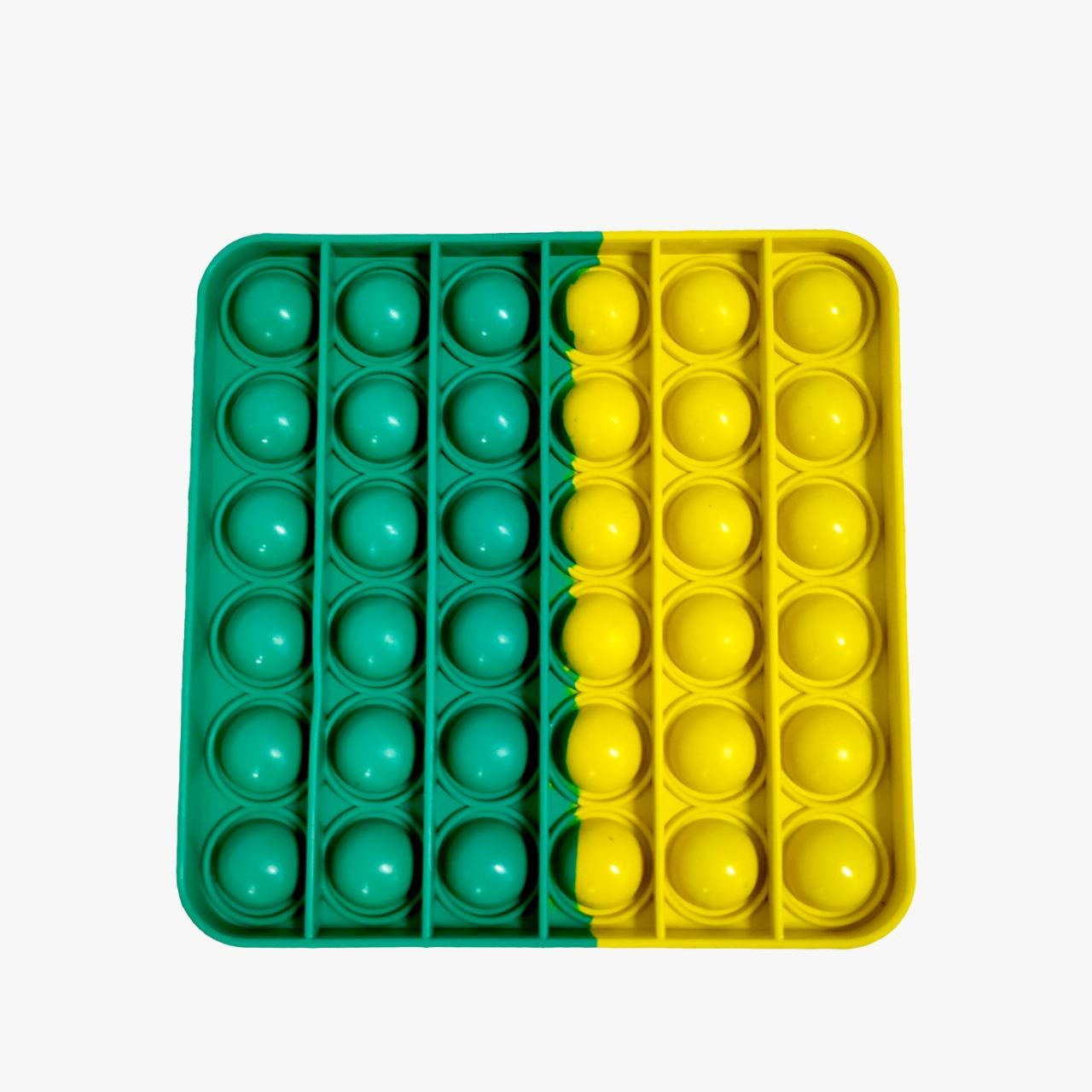 Brinquedo Pop-it Fidget Toys Quadrado