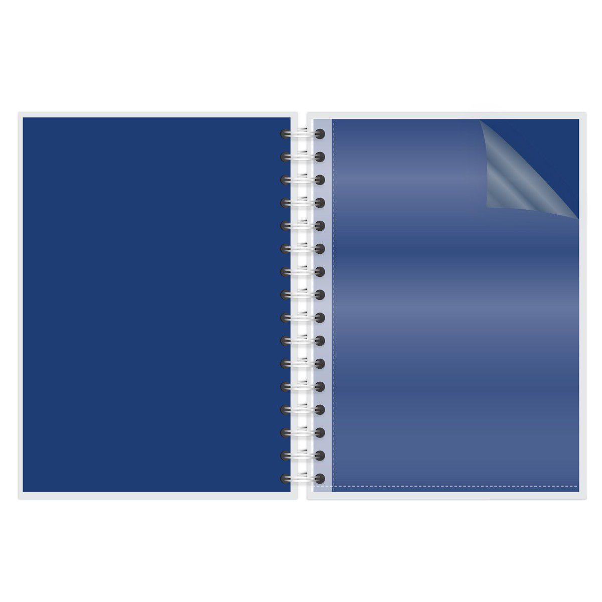 Caderno A4 96 folhas Brigitti Atividades Lubi