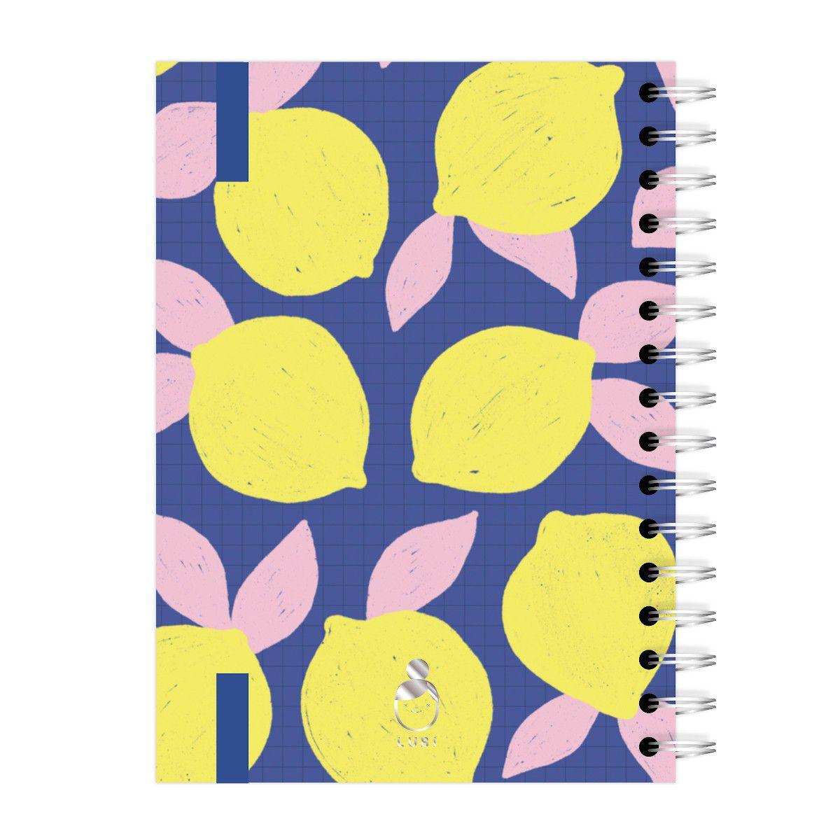 Caderno A4 96 folhas Limões Lubi