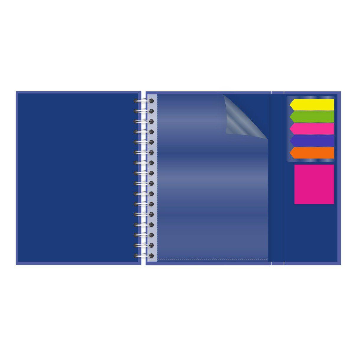 Caderno A5 Com Aba Brigitti Atividades Lubi