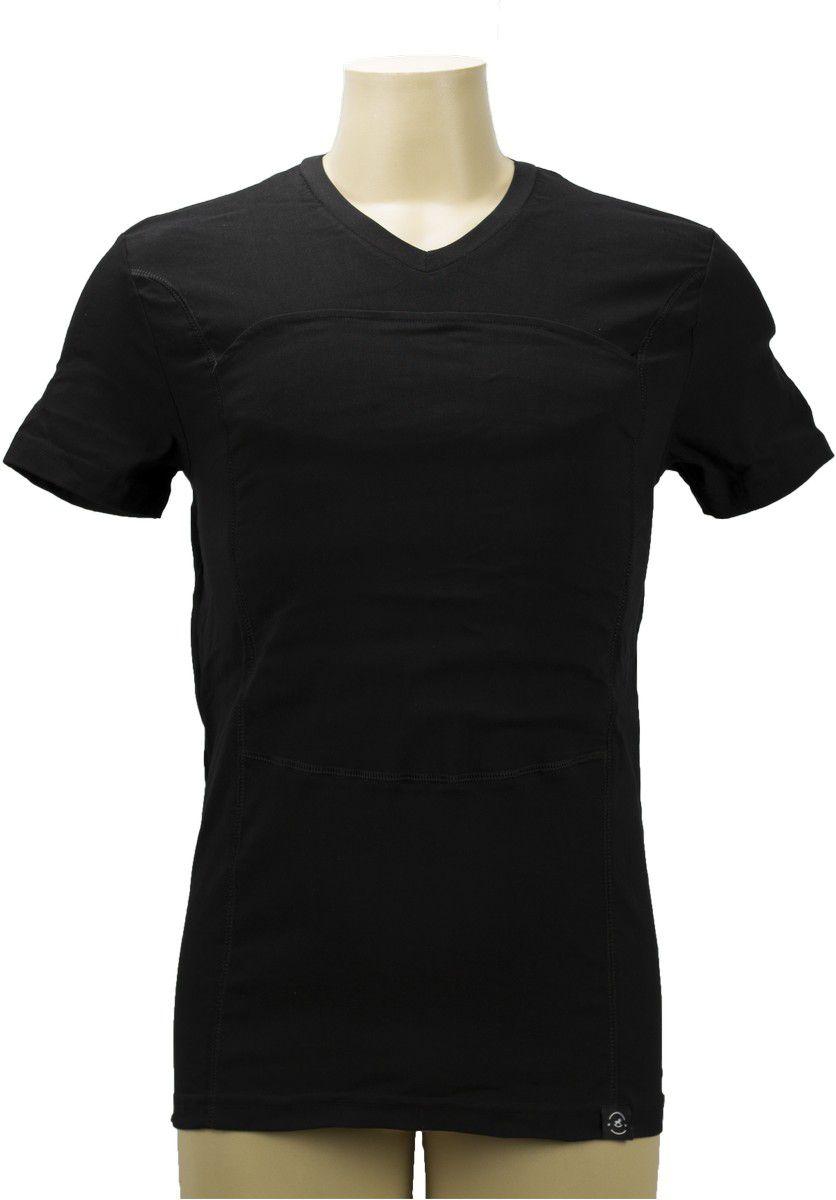 Camiseta Canguru Masculina P Preta Penka