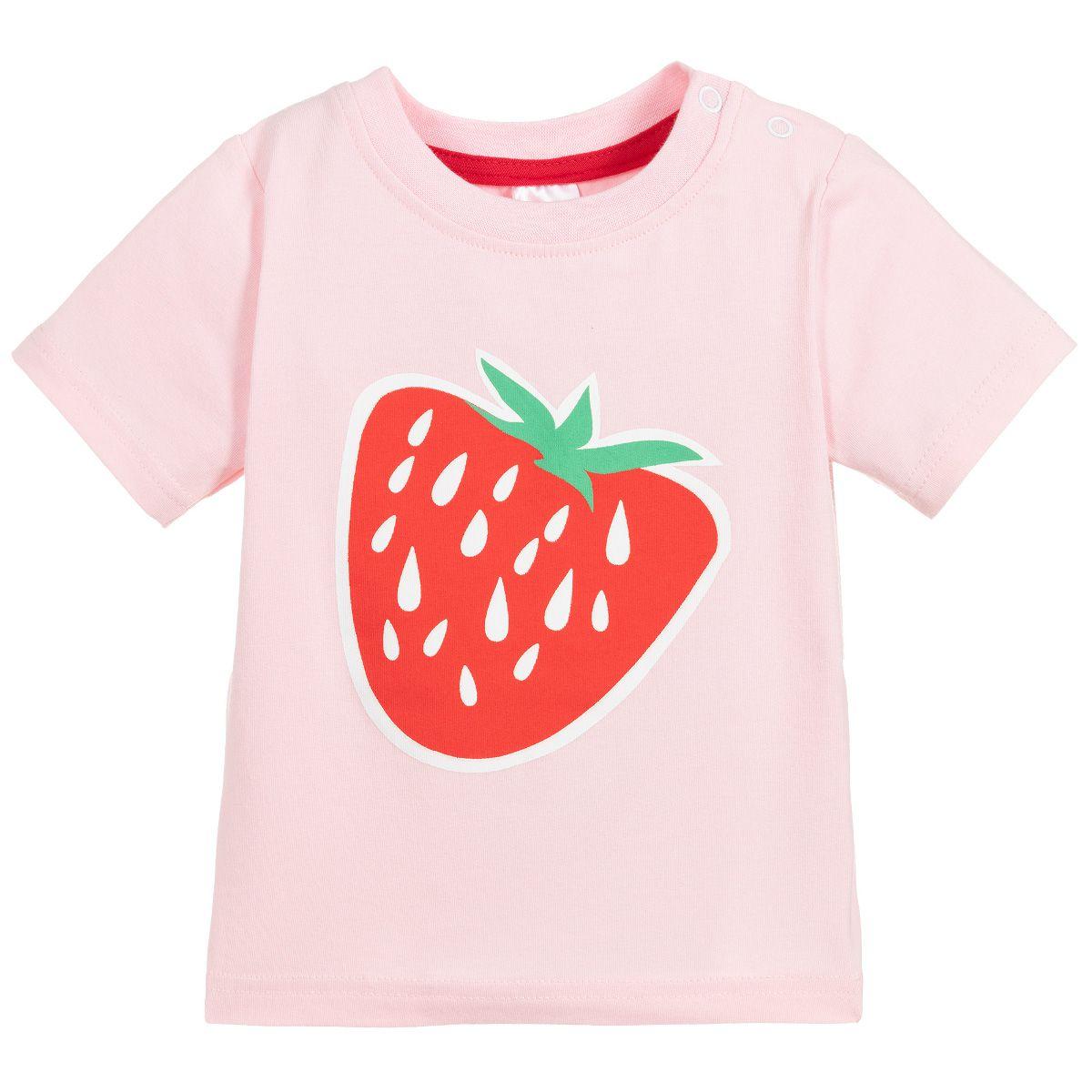 Camiseta Manga Curta Morango Blade and Rose
