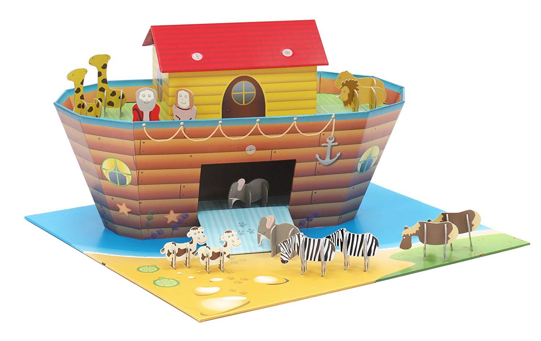 Cenário para Montar Arca de Noé Krooom