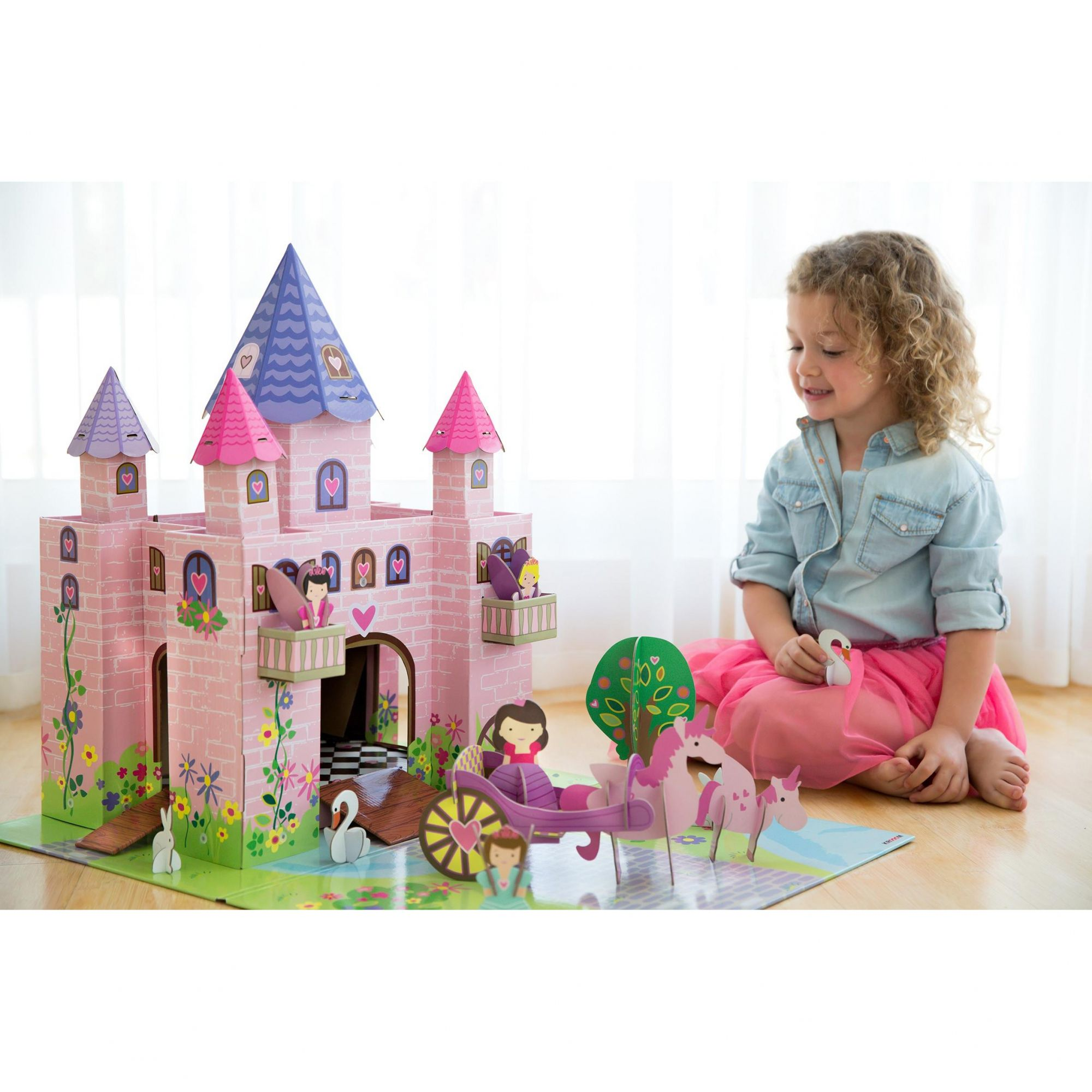 Cenário para Montar Castelo Princesas Krooom