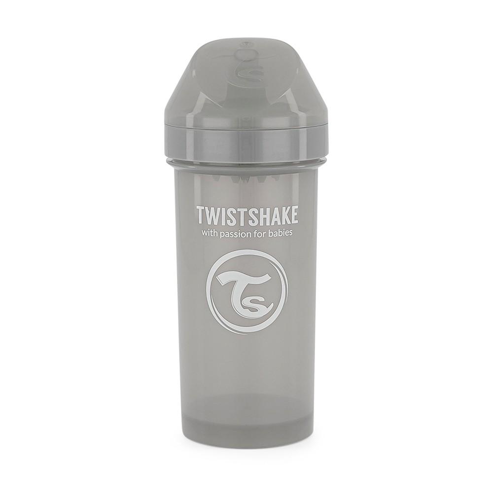 Copo de Treinamento 360 ml Cinza Twistshake