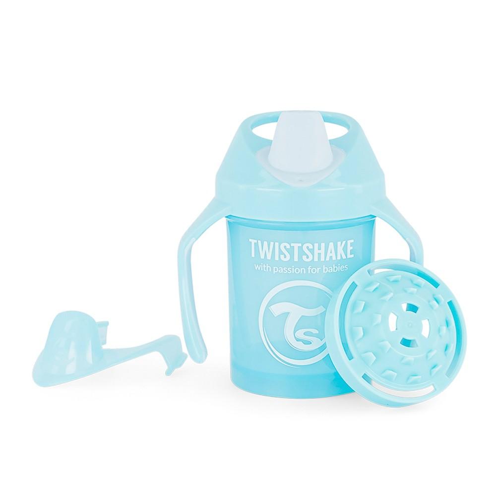 Copo de Treinamento com alça 230 ml Azul Twistshake