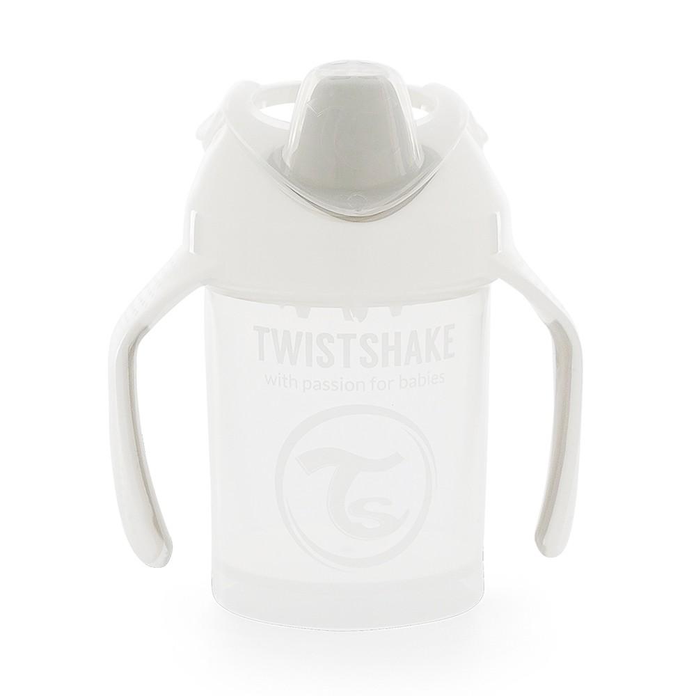 Copo de Treinamento com alça 230 ml Branco Twistshake