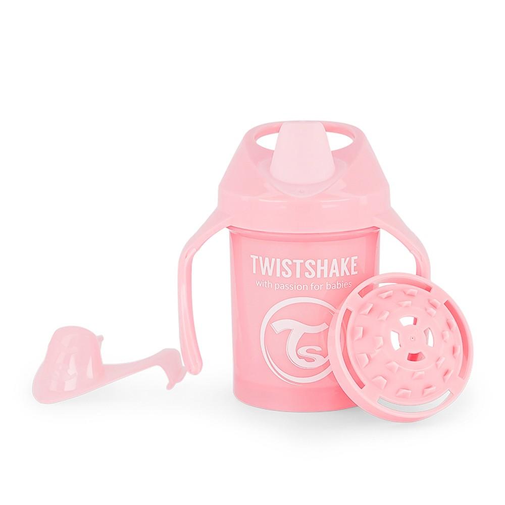 Copo de Treinamento com alça 230 ml Rosa Twistshake