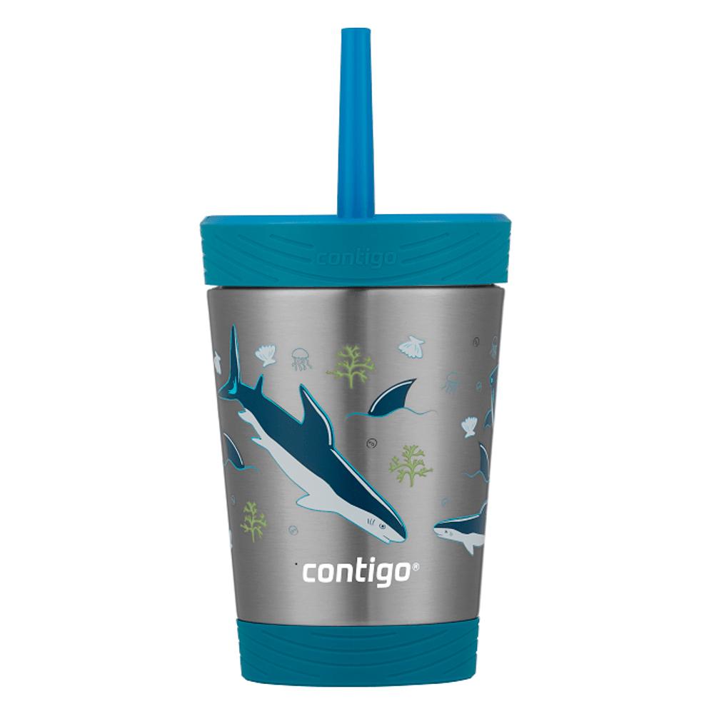Copo Térmico Inox Kids Tubarão 341ml Contigo