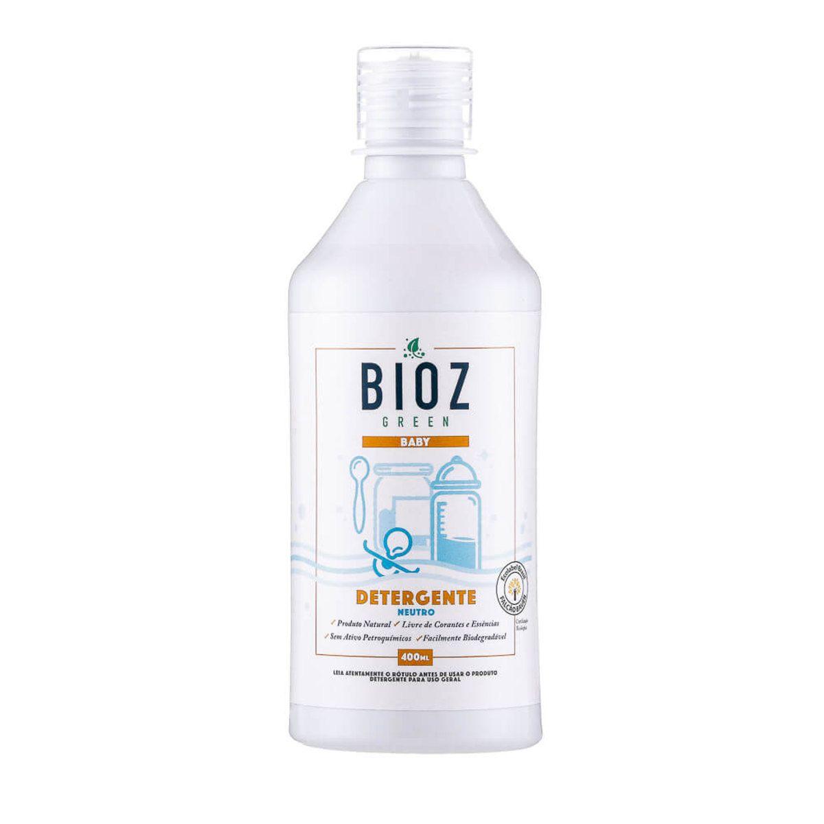 Detergente Neutro Baby 400 ml Bioz
