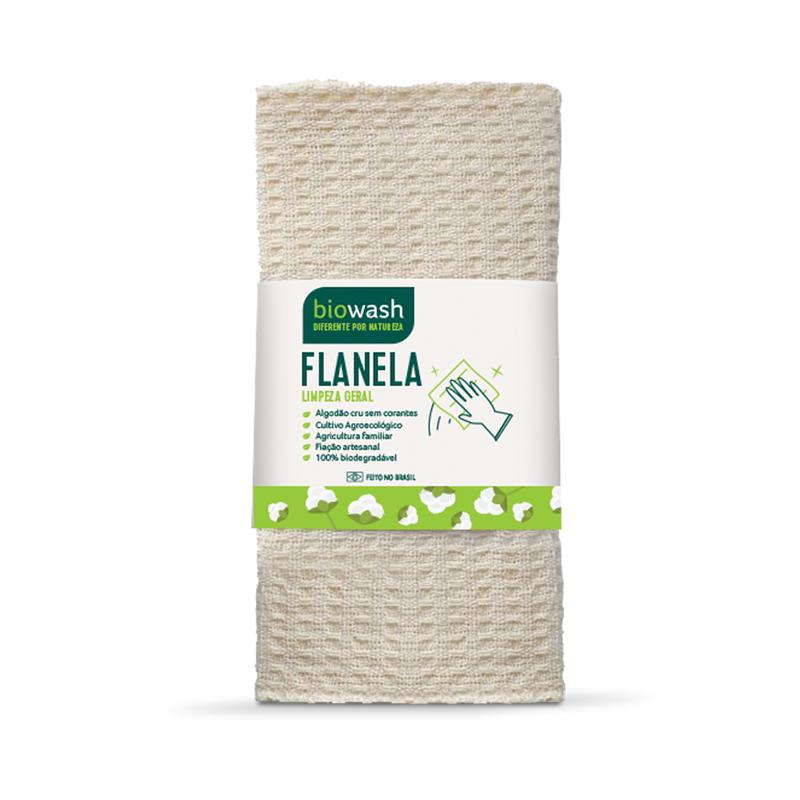 Flanela Algodão Orgânico Biowash