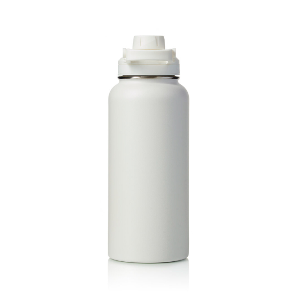 Garrafa Térmica Hydra Branca 950ml Pacco