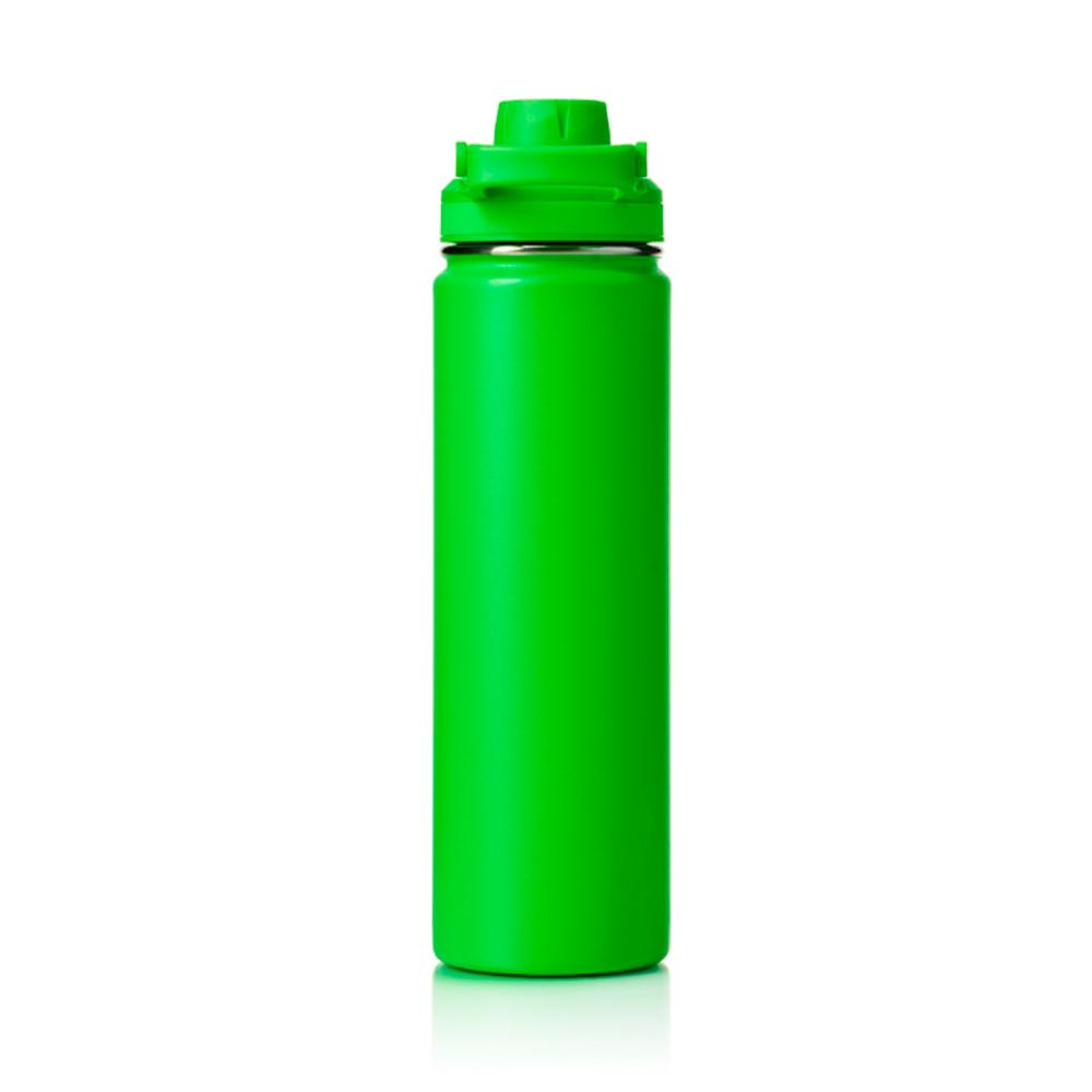 Garrafa Térmica Hydra Verde 650ml Pacco