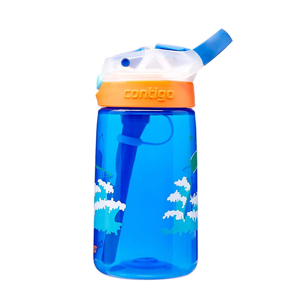 Garrafinha Infantil Gizmo Tubarão 414ml Contigo