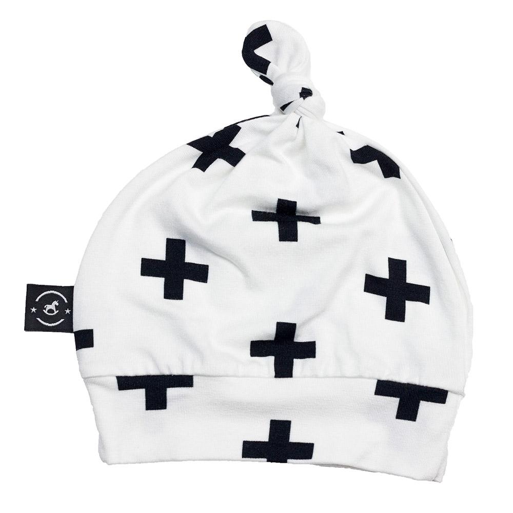 Gorro Touca para Recém Nascido Olaf Branco Penka Knot Hat