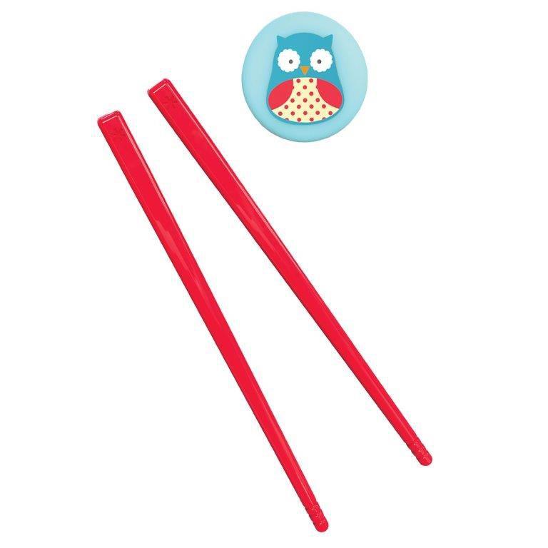 Hashi Palitinho Japonês Zoo Coruja Skip Hop