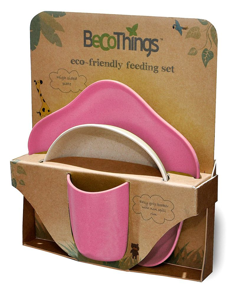 Kit Alimentação Rosa BecoThings