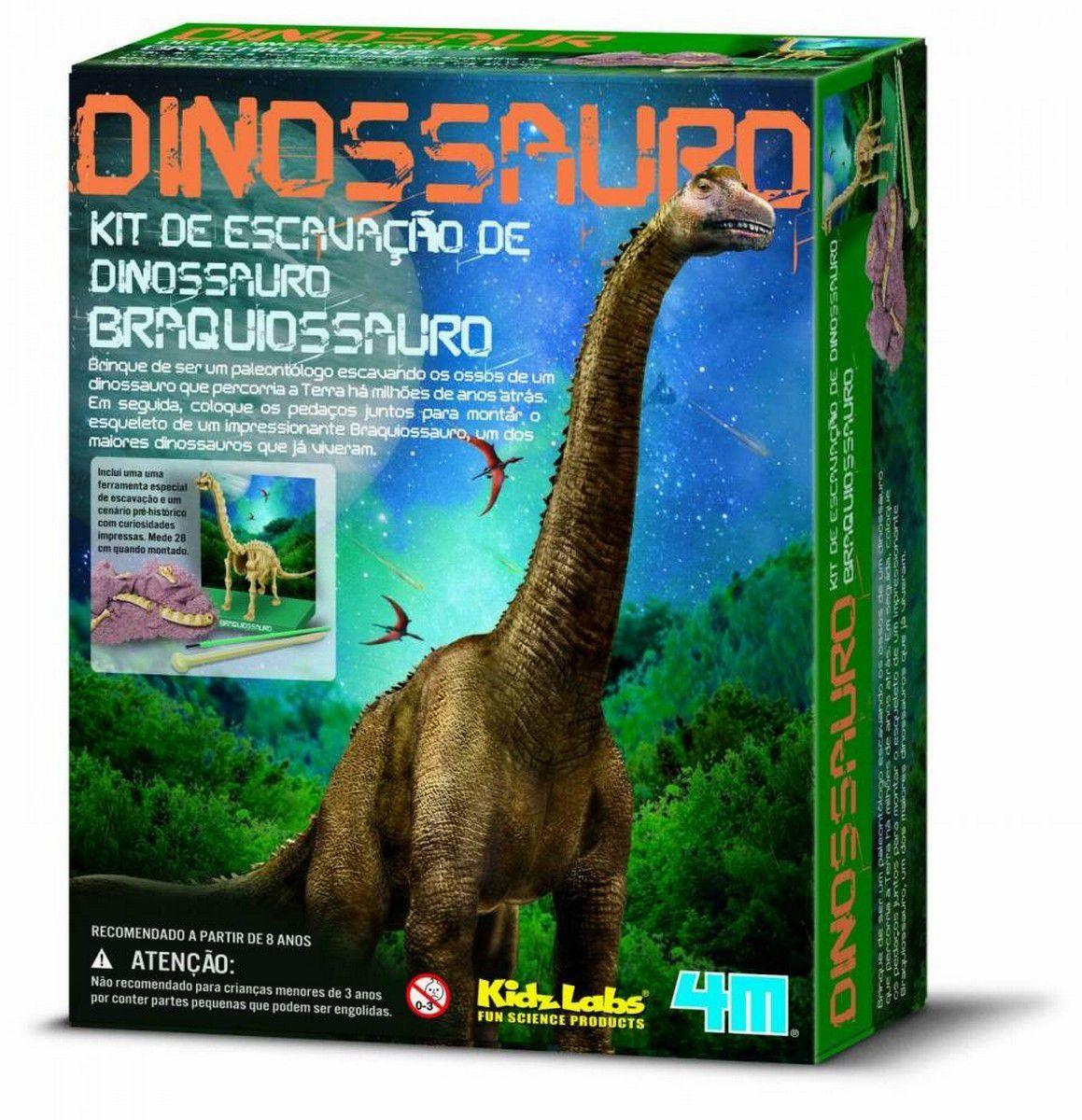 Kit de Escavação Braquiossauro  4M