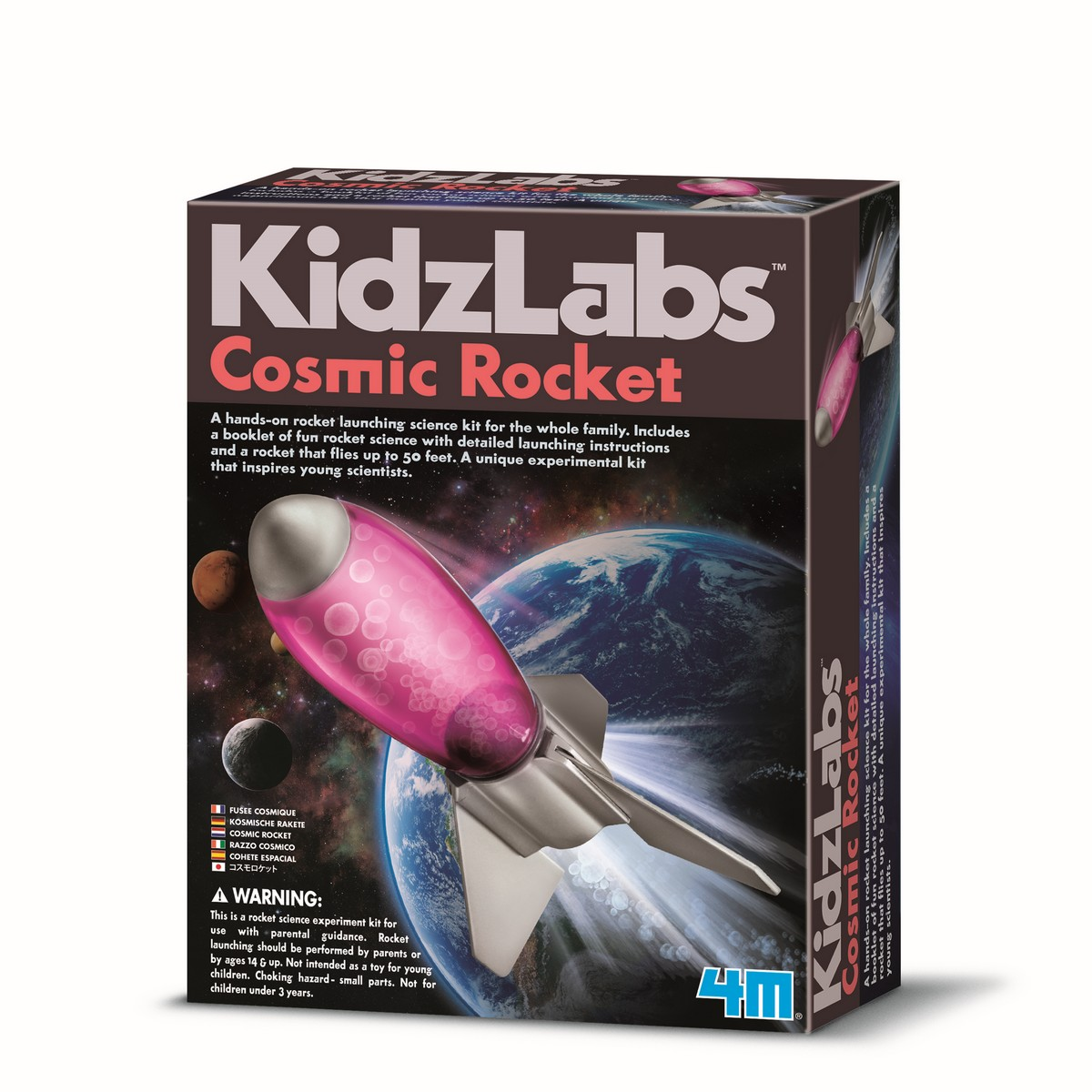 Kit Foguete Cósmico 4M