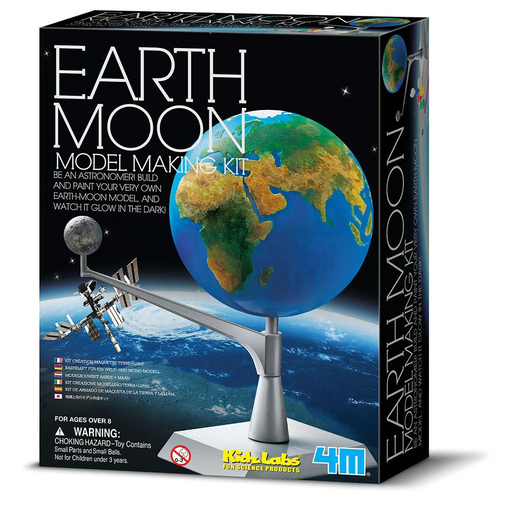 Kit Modelo Terra e Lua 4M