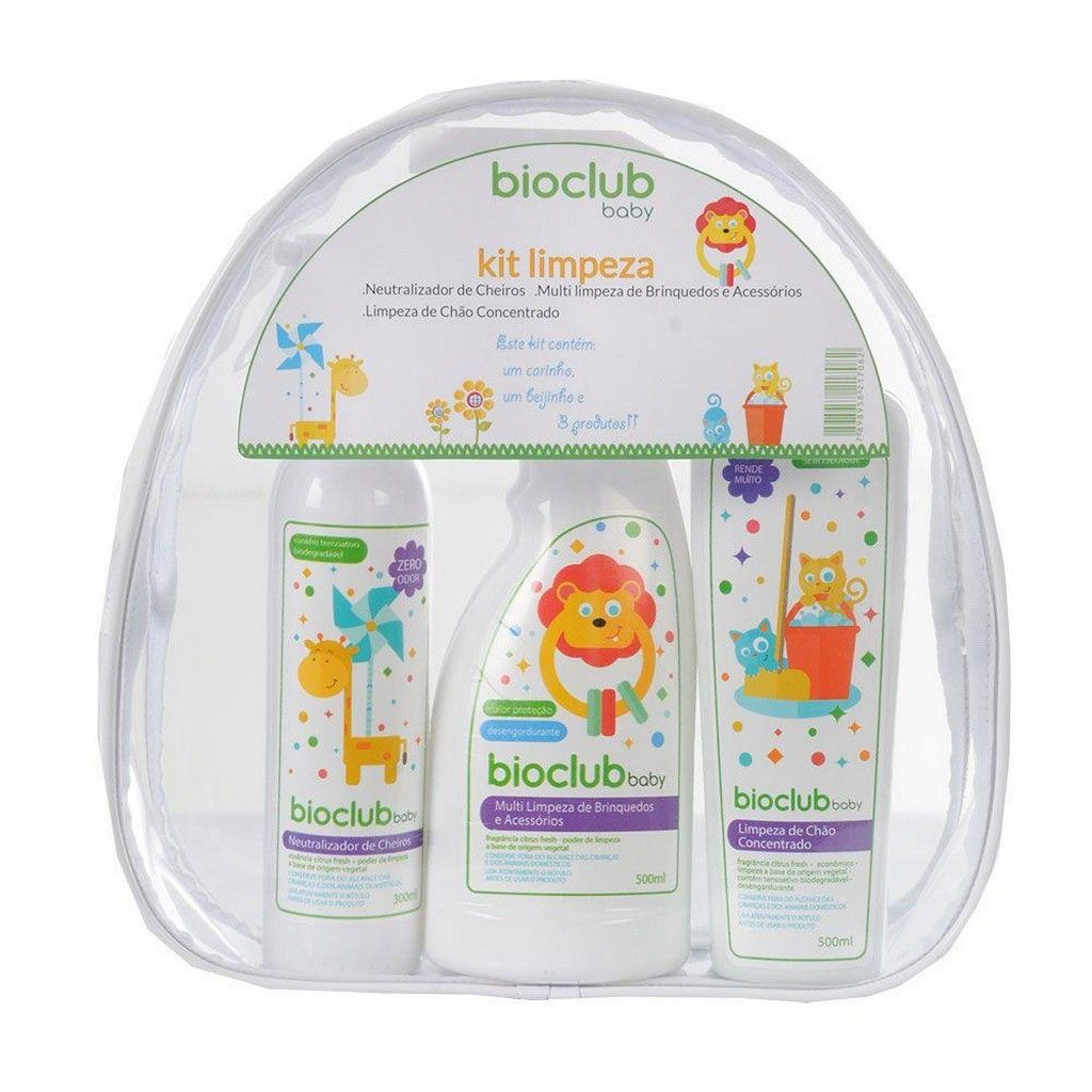 Kit Necessaire Limpeza BioClub