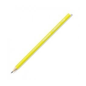 Lápis Preto Wopex HB2 Amarelo Neon Staedtler