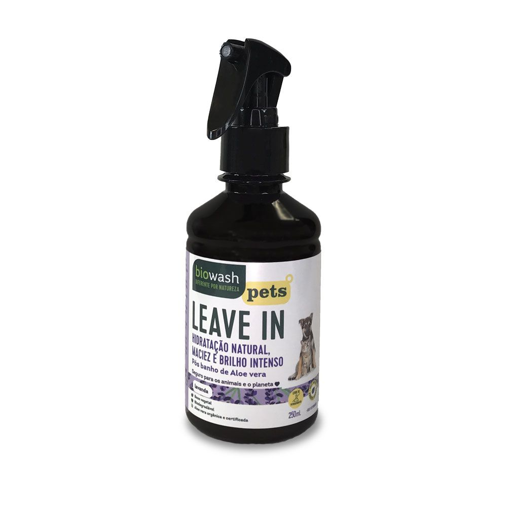 Leave in Pet Lavanda 250 ml Biowash