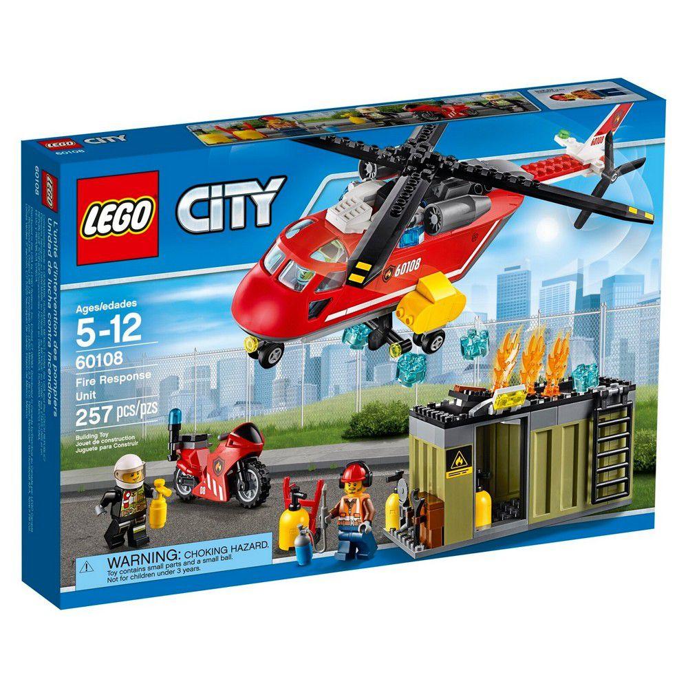 LEGO City Fire - Corpo de Intervenção dos Bombeiros