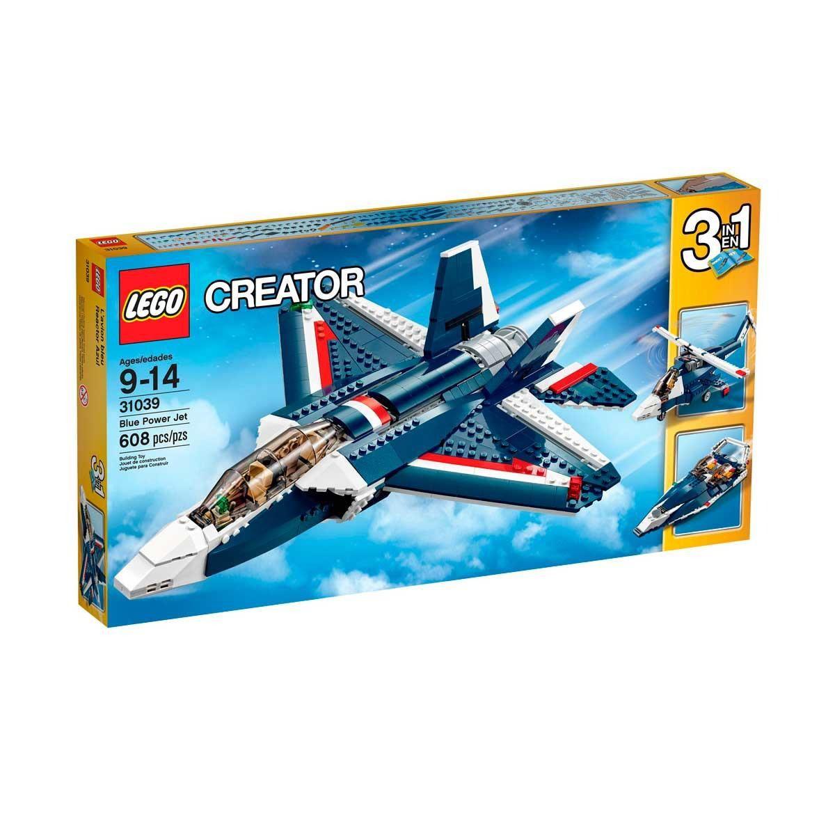 LEGO Creator Avião a Jato Azul