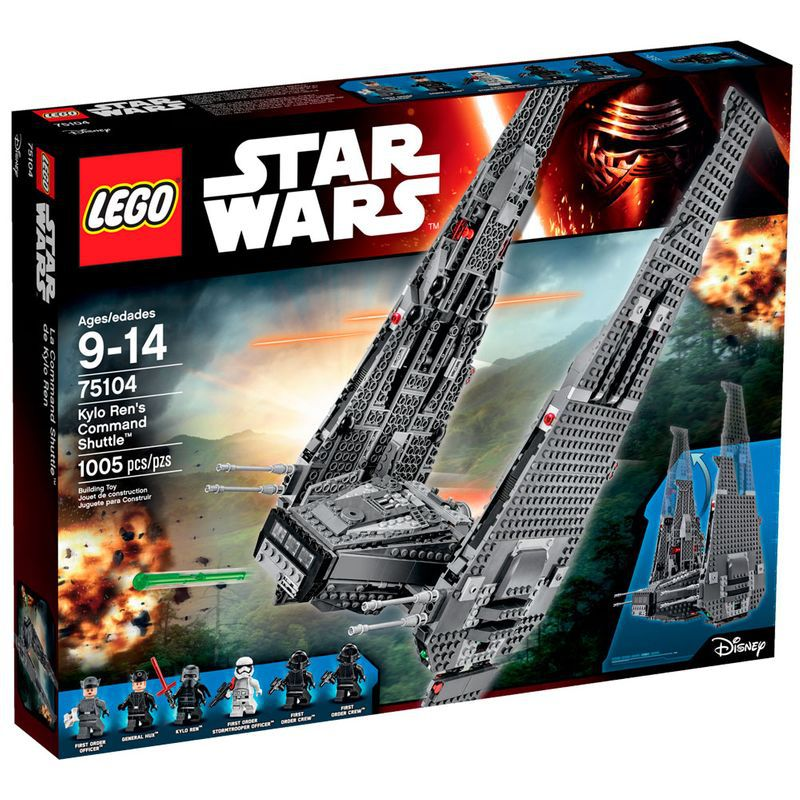 LEGO Star Wars - Command Shuttle de Kylo Ren