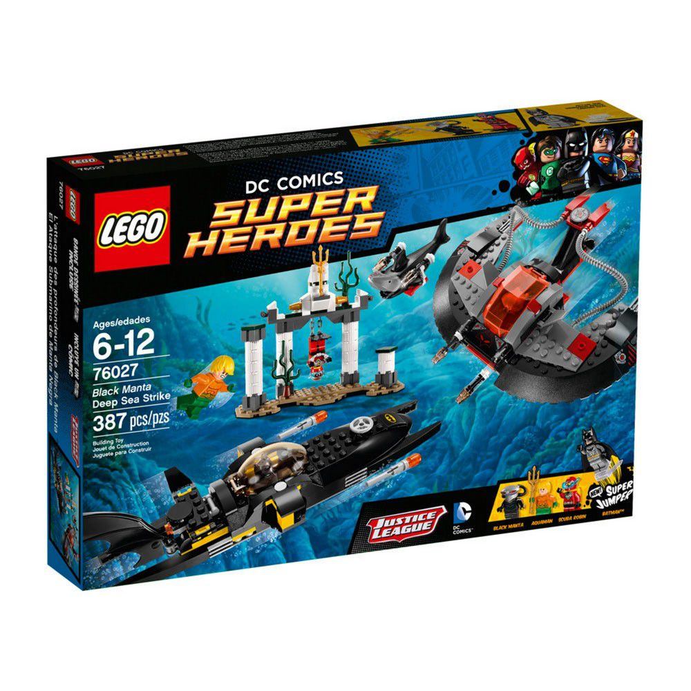LEGO Super Heroes - O Ataque do Fundo do Mar de Manta Negra