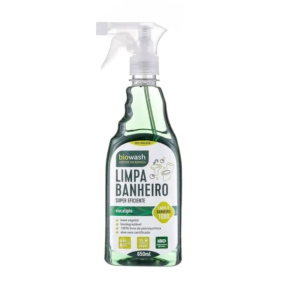 Limpa Banheiro Eucalipto Gatilho 650 ml Biowash