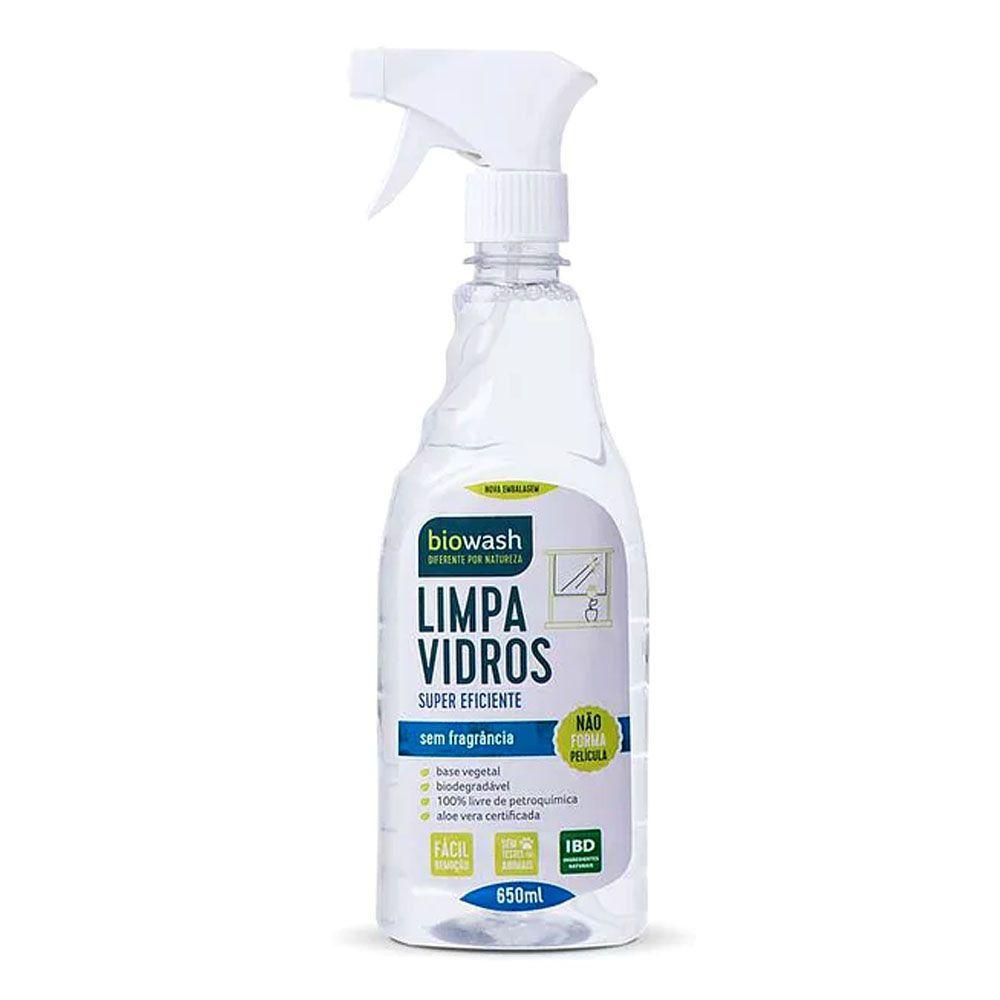 Limpa Vidros Gatilho 650 ml Biowash