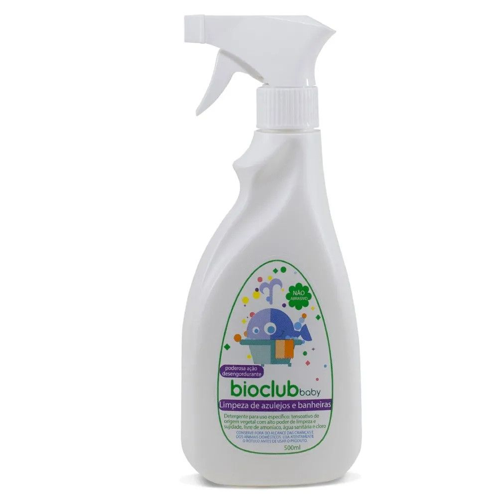 Limpeza de Azulejos e Banheiras 500 ml BioClub