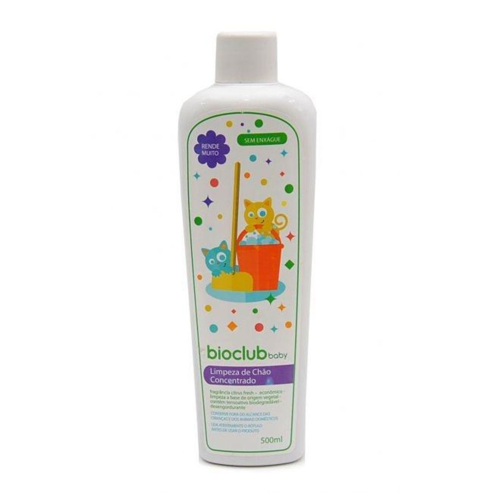 Limpeza de Chão Concentrado 500 ml BioClub