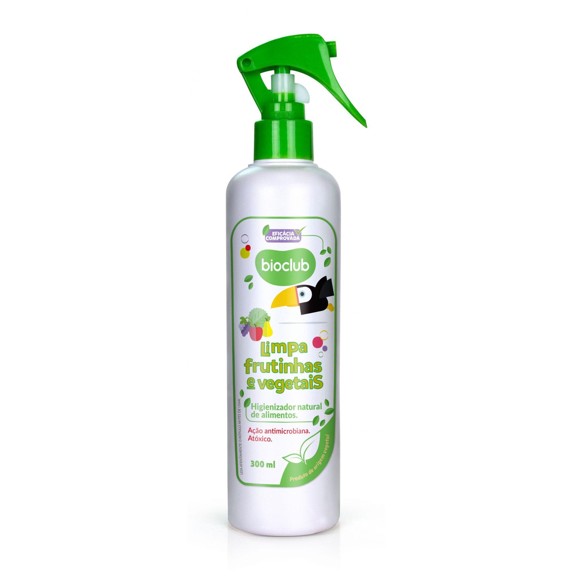 Limpeza de Frutas e Vegetais 300 ml BioClub