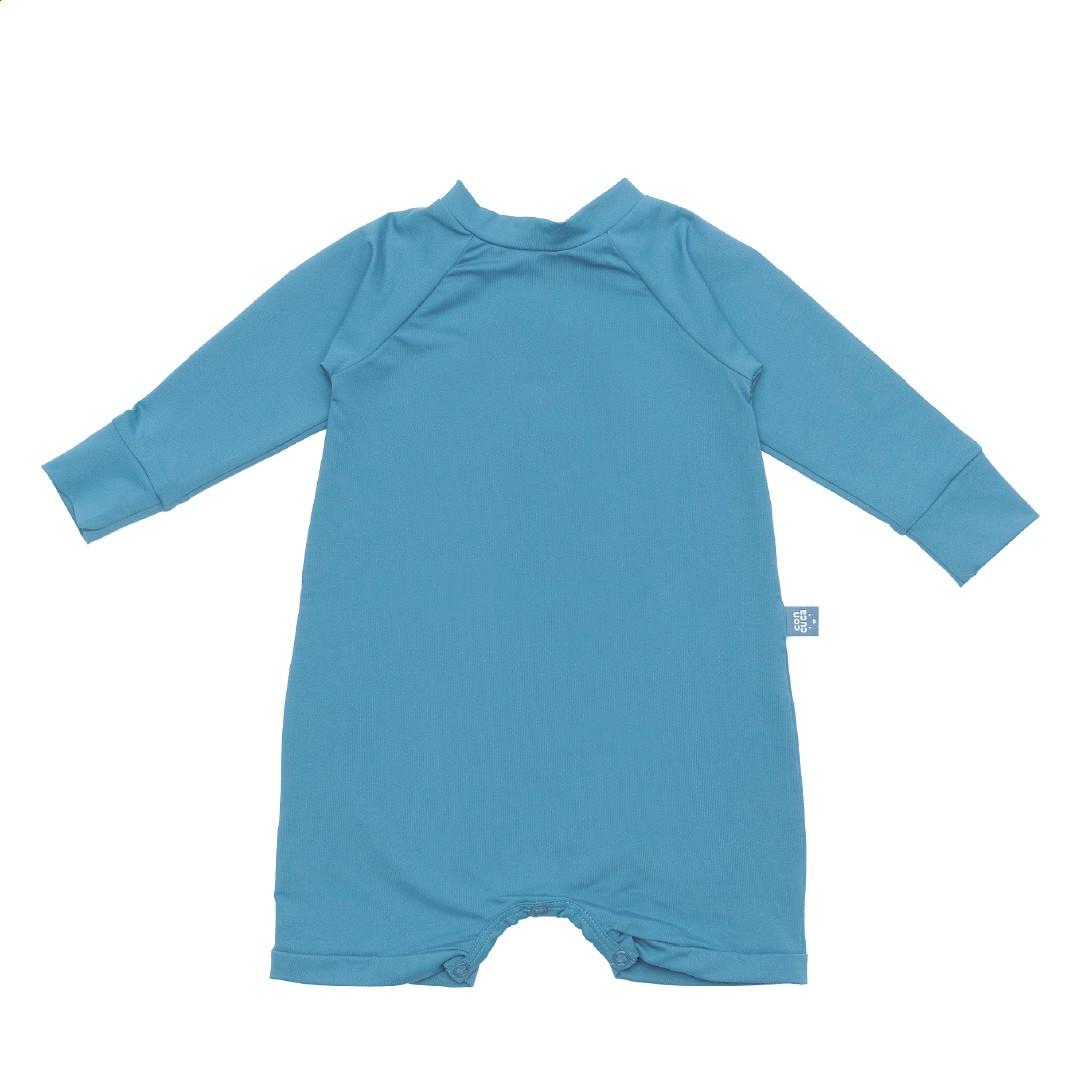 Macacão Curto com Proteção FPS50+ Holiday Azul Concuca