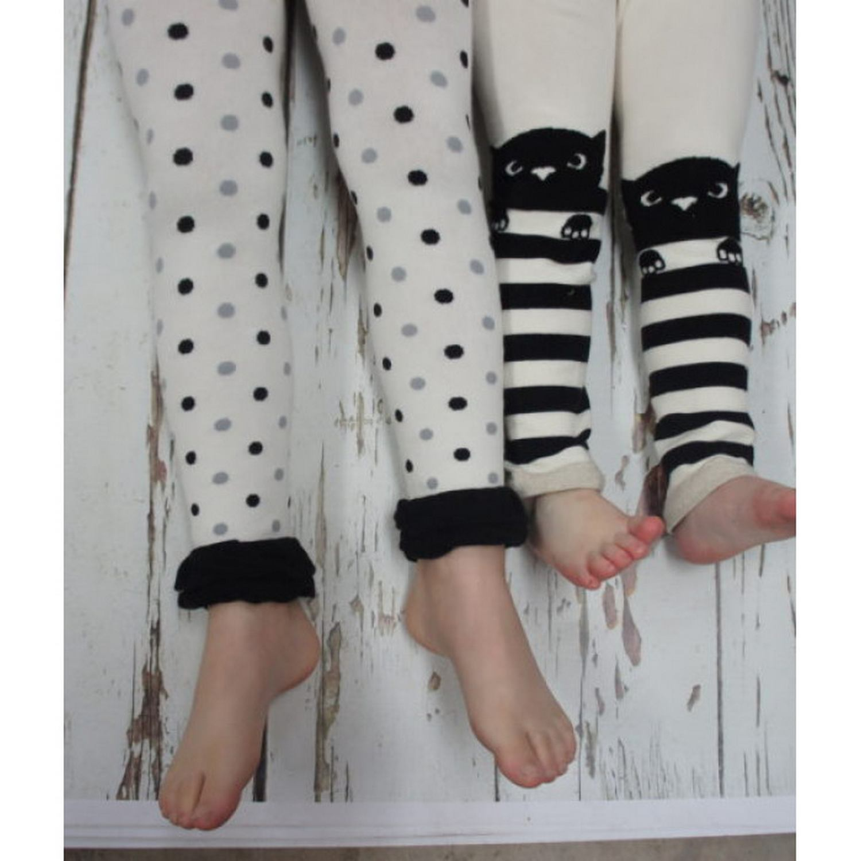 Meia Calça Legging Gatos e Listras Blade and Rose