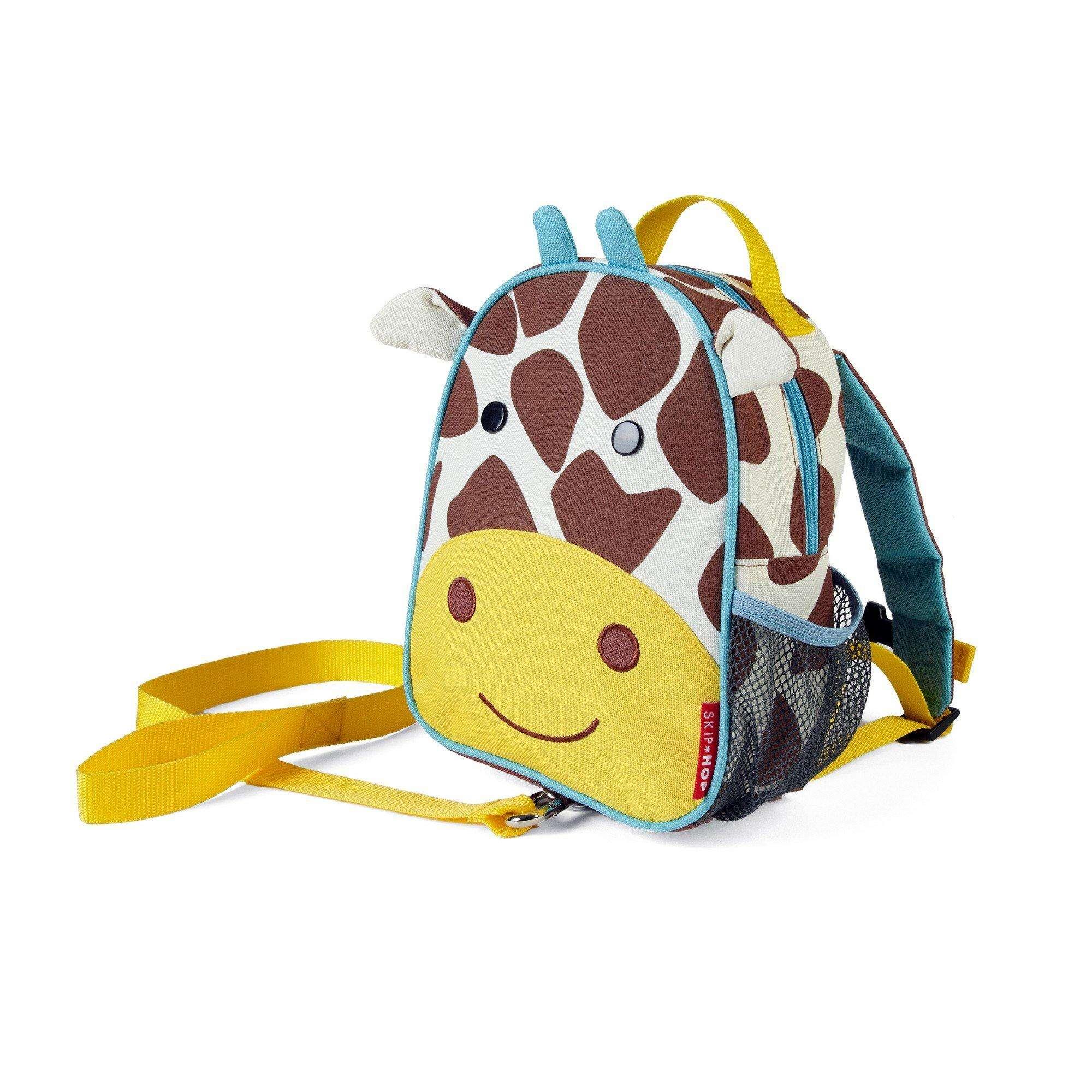 Mini Mochila com Guia Zoo Girafa Skip Hop