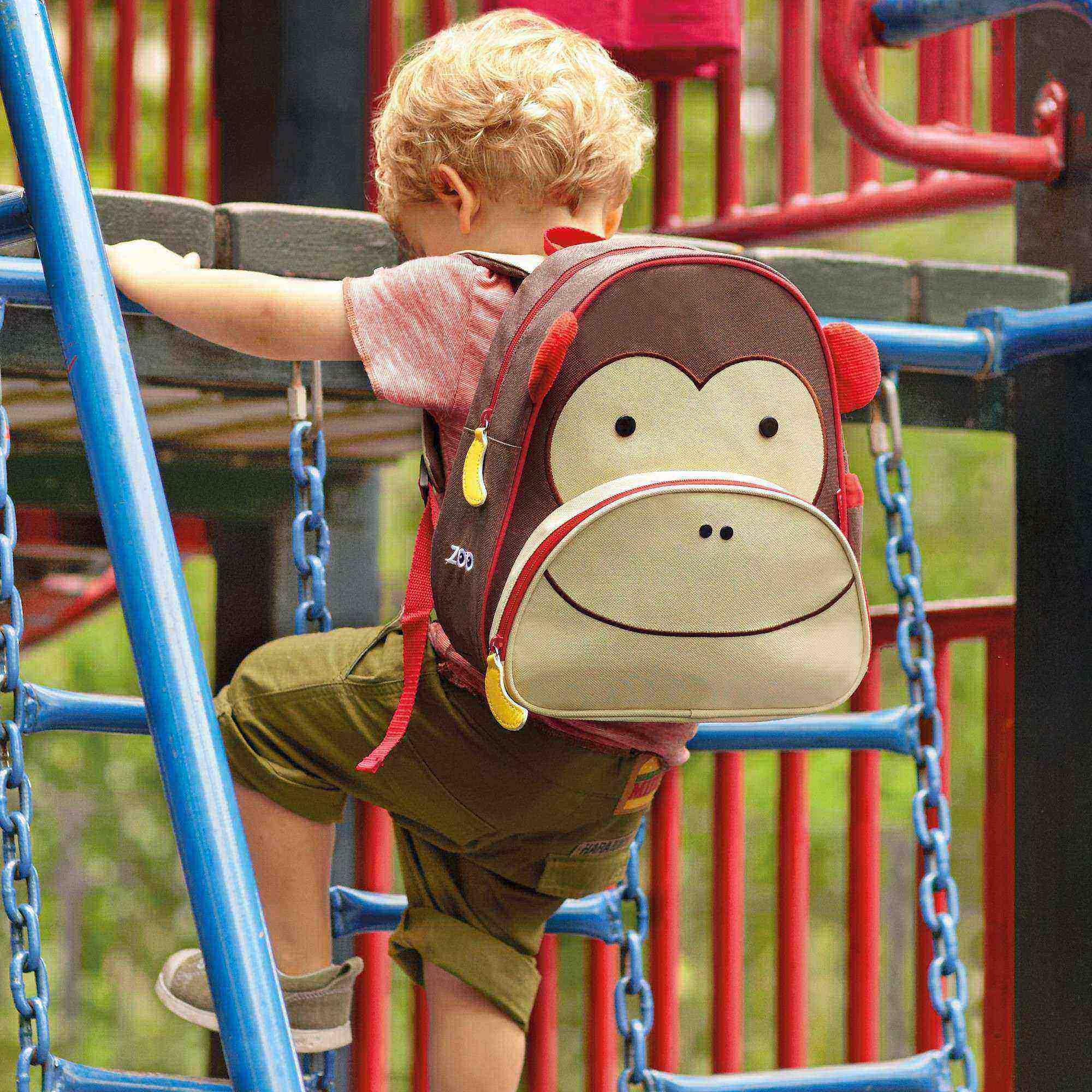Mochila Zoo Macaco Skip Hop