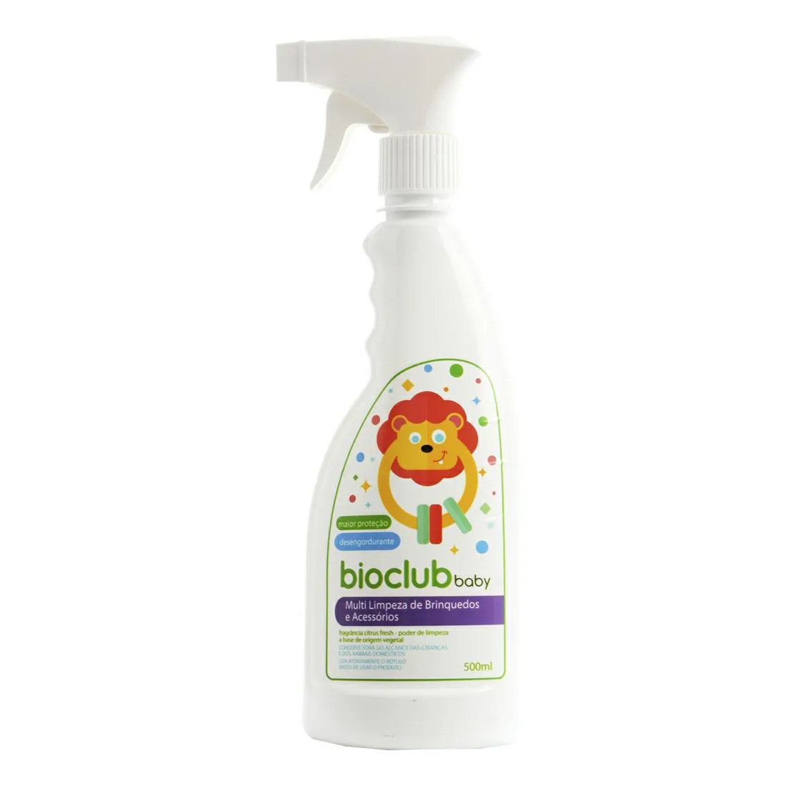 Multilimpeza de Brinquedos e Acessórios 500 ml BioClub