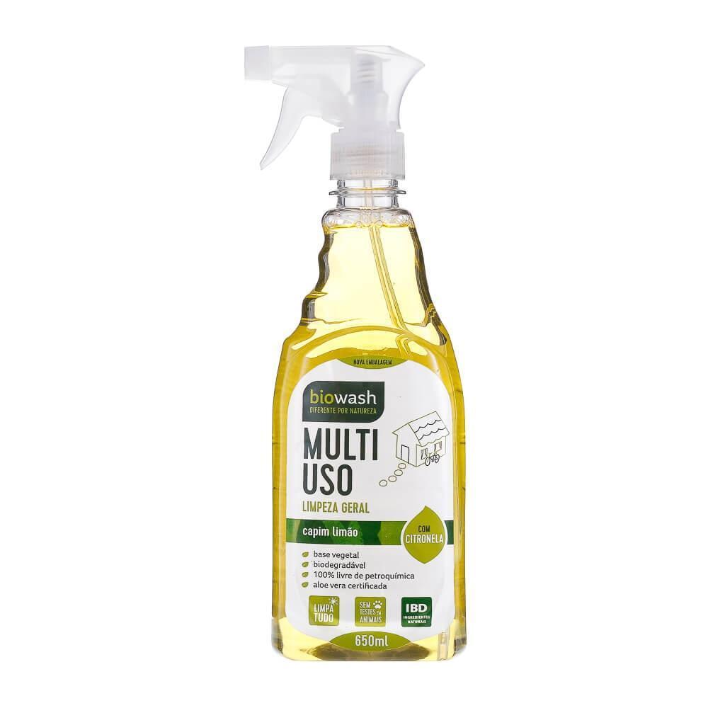 Multiuso Capim Limão Natural Gatilho 650 ml Biowash