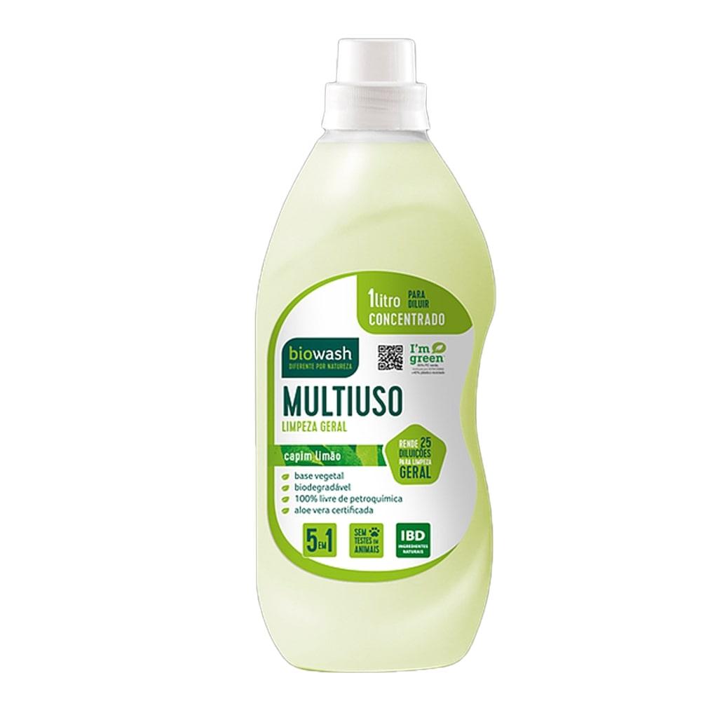 Multiuso Concentrado Capim Limão 1L Biowash