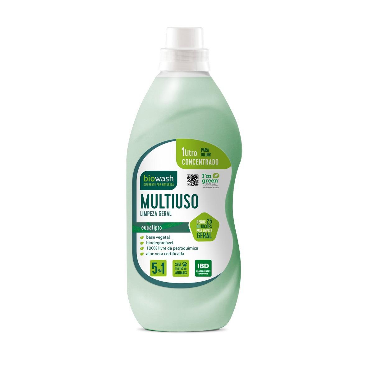 Multiuso Concentrado  Eucalipto 1L Biowash