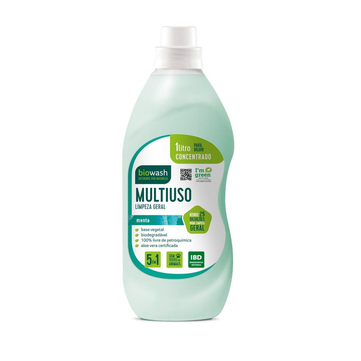 Multiuso Concentrado Menta 1L Biowash